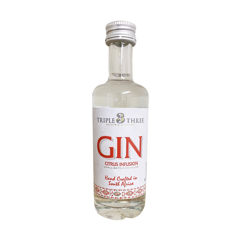 Triple Three Gin Citrus Infusion Mini 50ml
