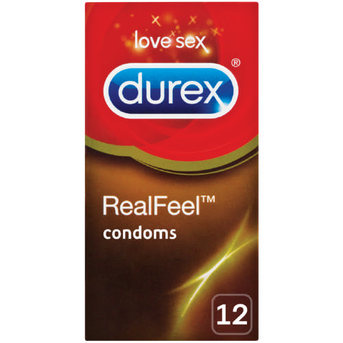 Durex Real Feel Condoms 12 pack