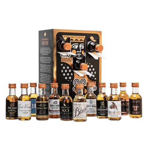 Sugarbird Brandy Box - 12 Mini SA Brandies