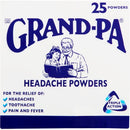Grand-Pa Headache Powders 25 Pack
