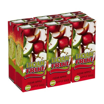Liqui Fruit Clear Apple 6 Pack