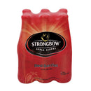 Strongbow Red Berries 330ml Bottle 6 Pack