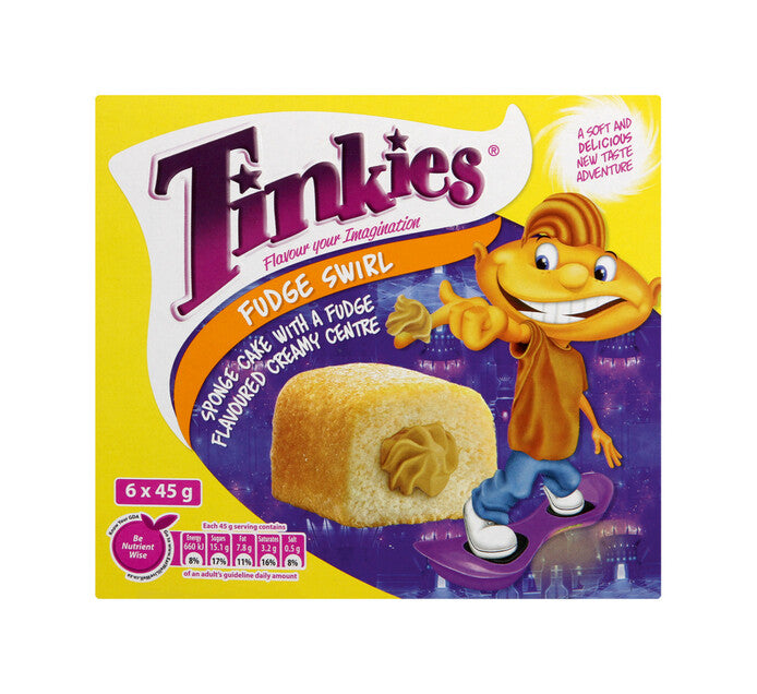 Tinkies Fudge Swirl 6 Pack