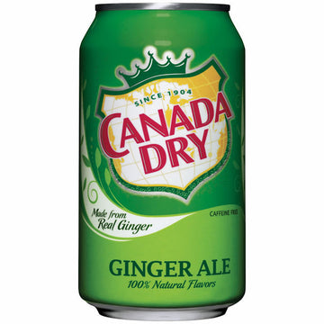 Canada Dry Ginger Ale - 12oz Can