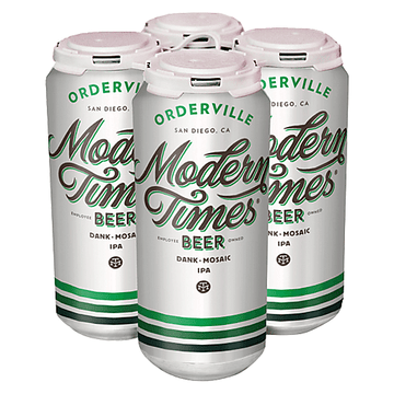 Modern Times - Orderville IPA - 4 Pack