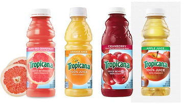 Tropicana Juice - 10oz Bottle