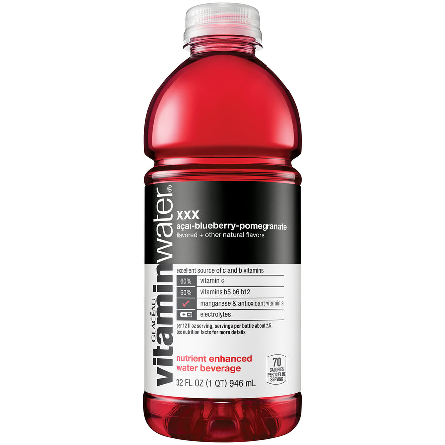 Vitamin Water - Blueberry Pomegranate - 20oz Bottle