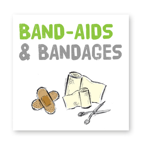 Band-aids and bandages