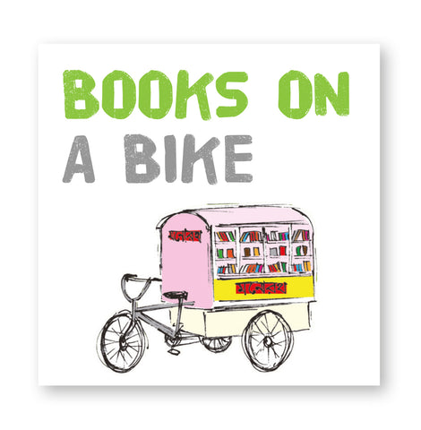 Books on a bike