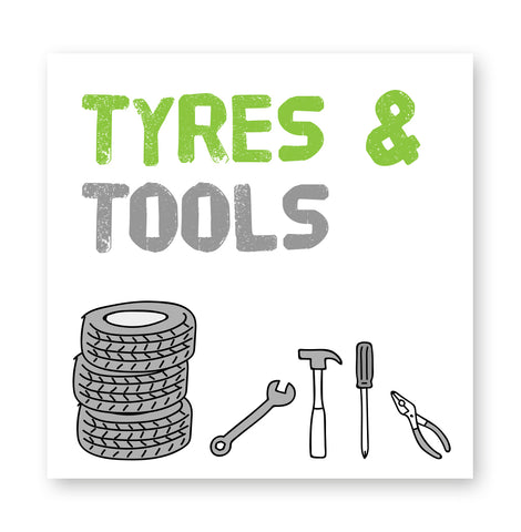 Tyres and tools