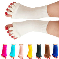 Happy Feet Toeless Pain Relief Socks