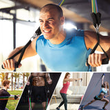 "11 Piece ""Gym-in-your-pocket"" Resistance Bands Set"