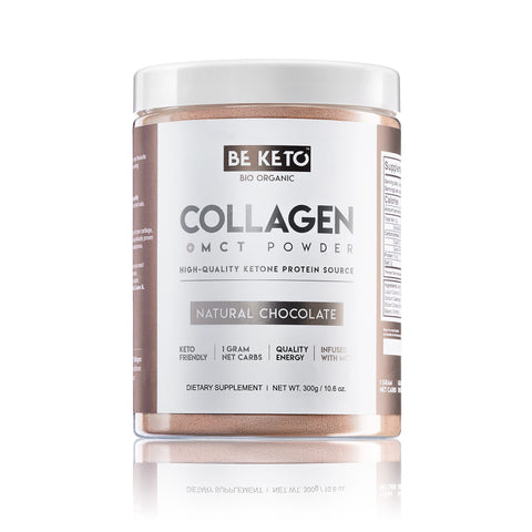 Keto Collagen + MCT Oil - NATURAL CHOCOLATE 300G