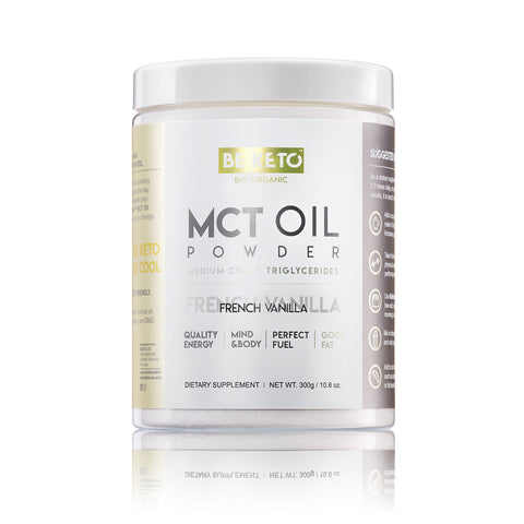 MCT Oil Powder - FRENCH VANILLA 300G