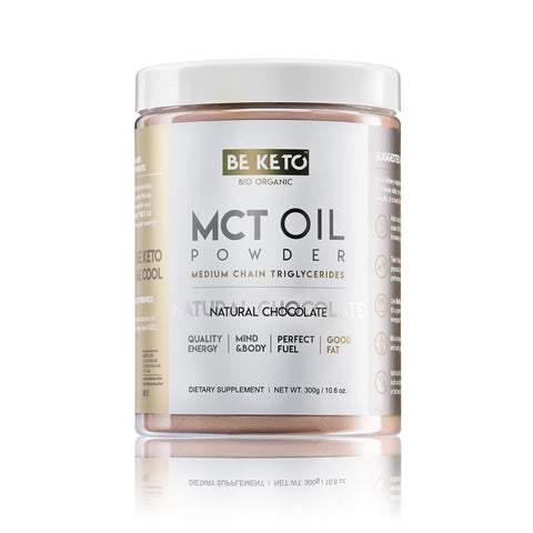 MCT Oil Powder - NATURAL CHOCOLATE 300G