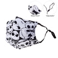 V-Mask Funny Skull Adults