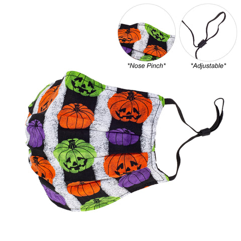 V-Mask Pumpkin Fun Adults