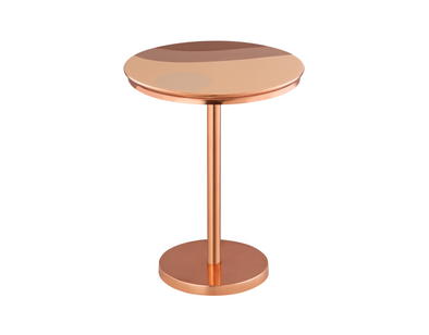 Blush Wave Side Table (6029532561560)