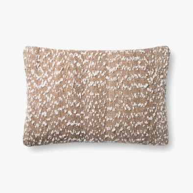 Brown Speckled Pillow Set of 2