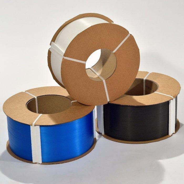 TEWE® S-BAND POLYPROPYLENE STRAPPING 5MM X 0.47MM X 23,000FT, 8X8