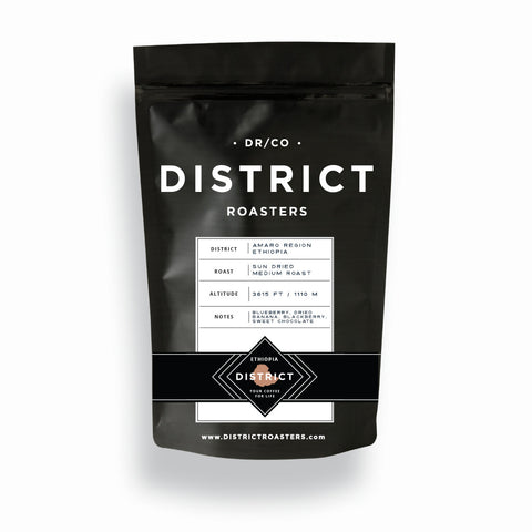 District Roasters - Sun-Dried Organic Ethiopian