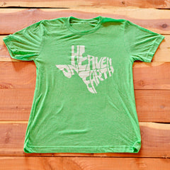 Heaven on Earth Green Shirt