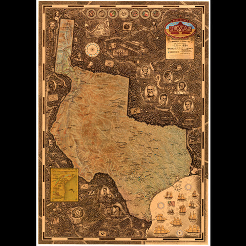 Smith Map Studio - Battlefield Texas: Republic of Texas