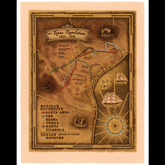 Smith Map Studio - Battlefield Texas: Texas Revolution