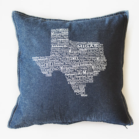 TX Foods Pillow Cover