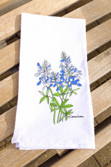 Texas Bluebonnet Dish Towel