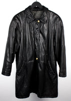 GERRY WEBER LEATHER COAT SIZE L