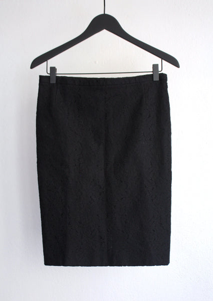 <strong>NO°21</strong> LACE PENCIL SKIRT SIZE 34