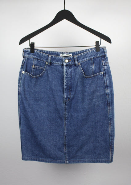 <strong>JIL SANDER</strong> DENIM SKIRT SIZE 42