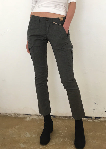 <strong>MONOCROM</strong> CASUAL WOOL PANTS SIZE 26