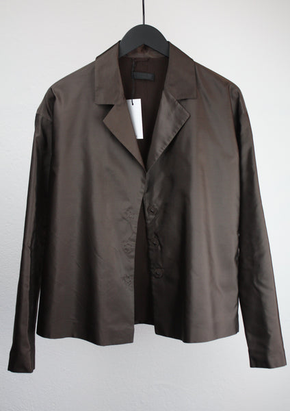 PRADA SILK JACKET SIZE 36