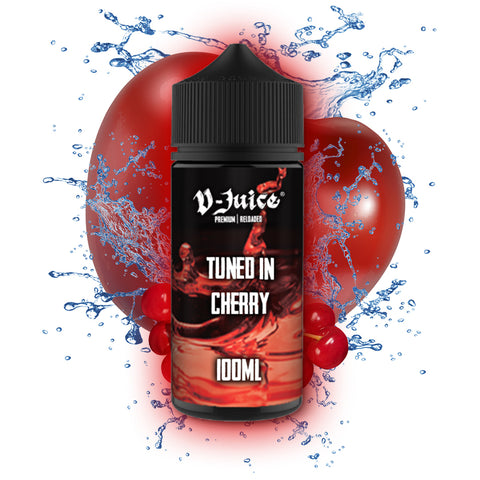 V-Juice Tuned In Cherry - 100ml Short Fill