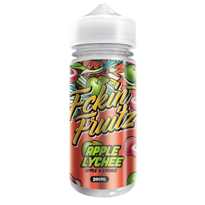 Fckin Fruitz Apple & Lychee - 200ml Short Fill