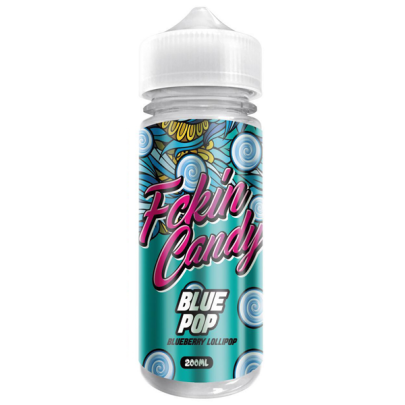 Fckin Candy Blue Pop - 200ml Short Fill