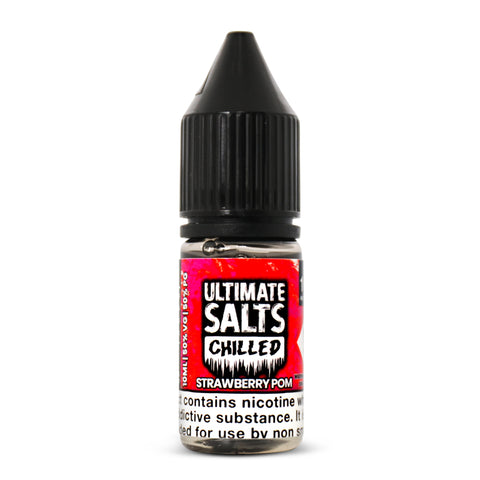 Ultimate Salts Strawberry Pom - 10ml Nicotine Salt