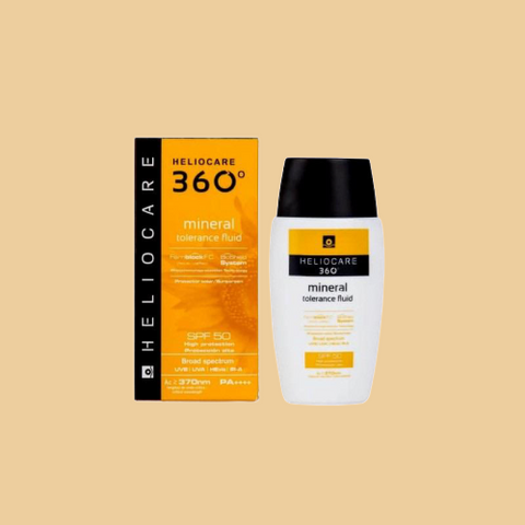 Heliocare 360 Mineral Tolerance