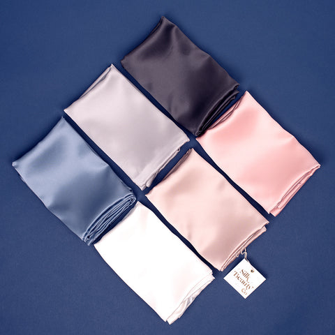 100% Silk 22 Momme Pillowcases by Silk Beauty Co