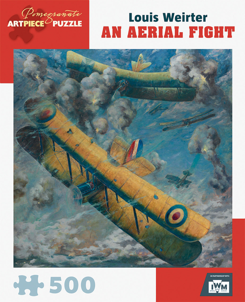 An Aerial Fight 500 Piece