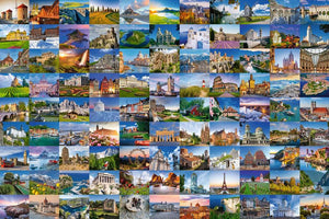 Beautiful Places Of Europe 3000 Piece