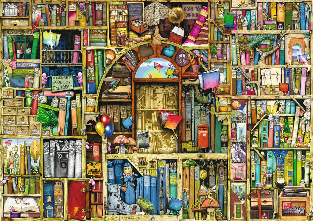 Bizarre Bookshop 2 1000 Piece