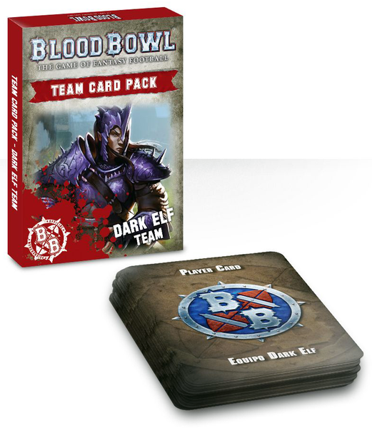 Blood Bowl Dark Elf Team Card Pack