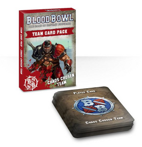 Blood Bowl Team Chaos Chosen Card Pack
