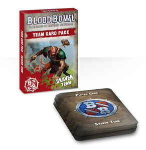 Blood Bowl Team Skaven Card Pack