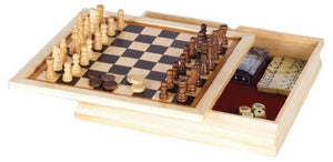 Chess Set 6 In 1 11''
