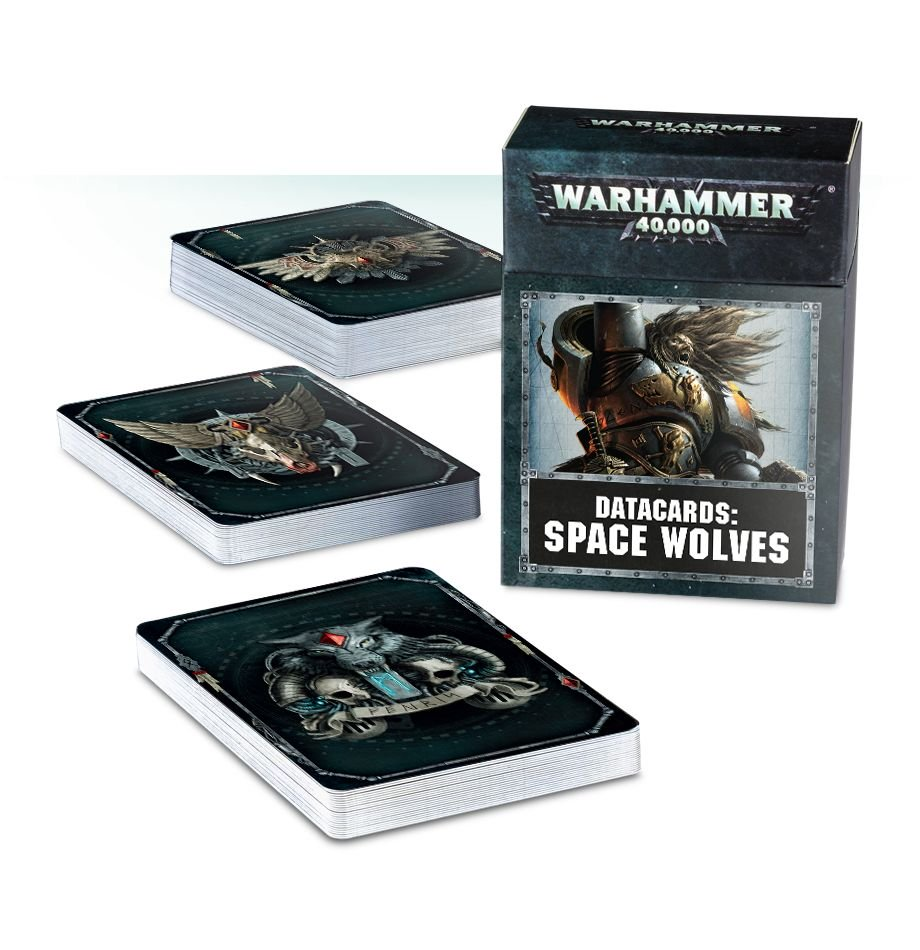 Datacards Space Wolves