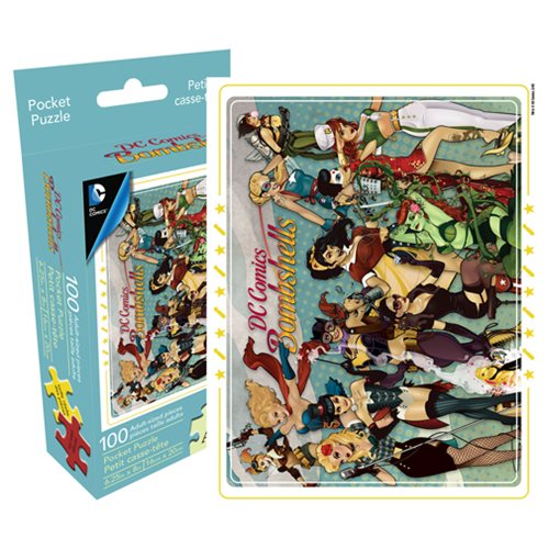 Dc Bombshells 100 Piece Pocket Puzzle